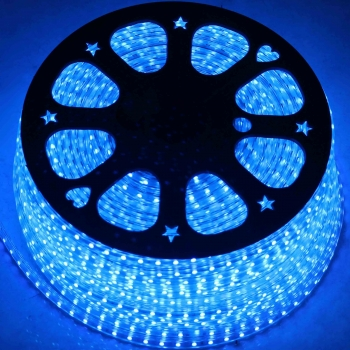 Blue/White LED Rope Light
