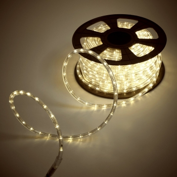 Warm White LED Rope Light