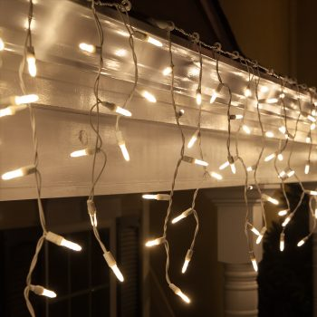 3m LED Warm White Icicles
