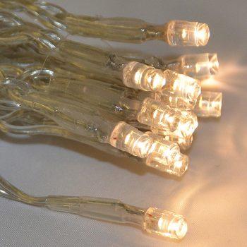 3m LED Warm White Icicles