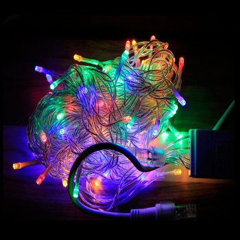 10m coloured led fairy lights