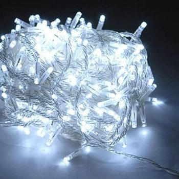 20m Cool White LED Fairy Lights