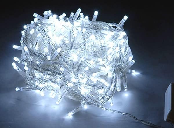 20m Cool White LED Fairy Lights - Festive Lights | Lights ...