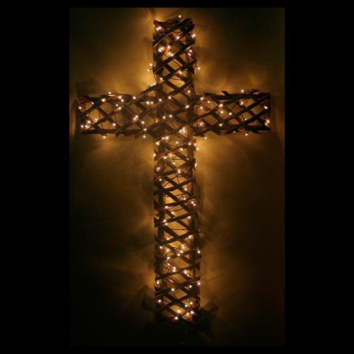 Fairy light Cross | Festive Lights