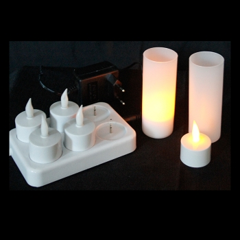 6 led tea candle lights