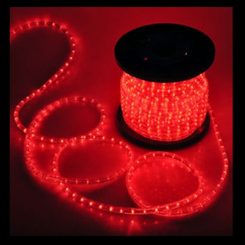 red rope light