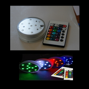 led submersible lights-remote control