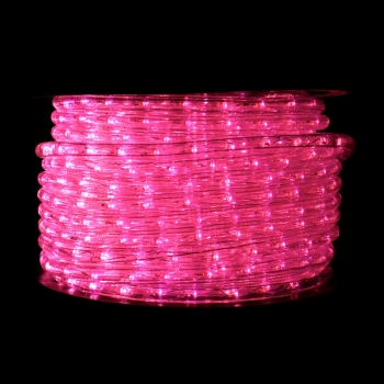 Pink LED Rope Light