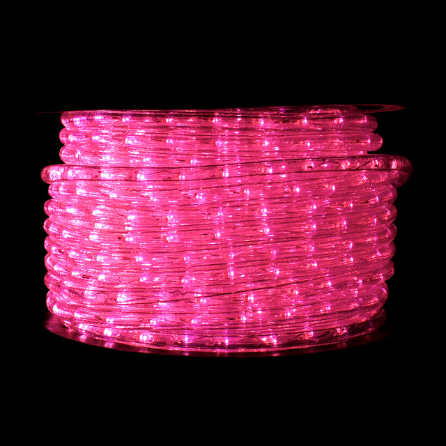 Pink led rope light festive lights pink led rope light aloadofball Images