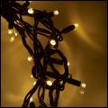 5m Warm White Rubber LED Icicles