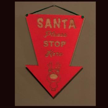 santa stop