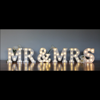 table marquee letters