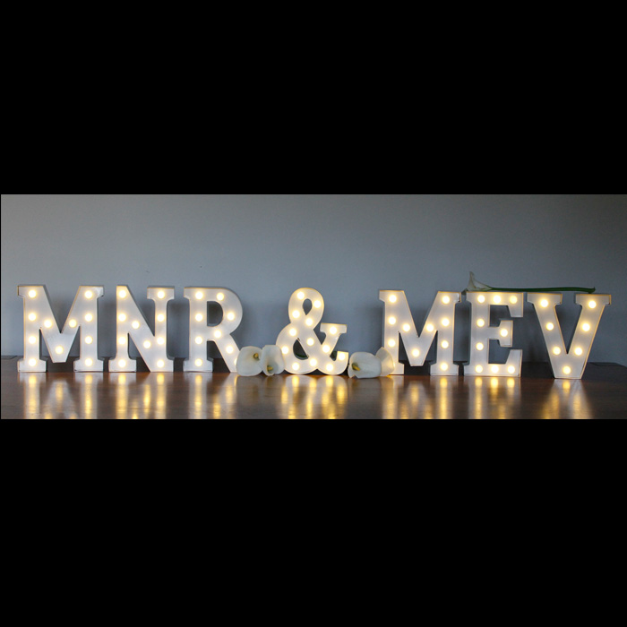 Table Marquee Letters - Festive Lights Lights for all occasions