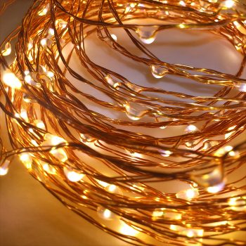 10m Copper Wire Battery Lights
