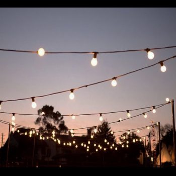 20m LED Big Bulb String Lights