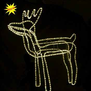 Big LED Reindeer - Warm White