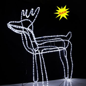 Big LED Reindeer