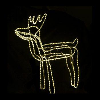 Large LED Reindeer - Warm White