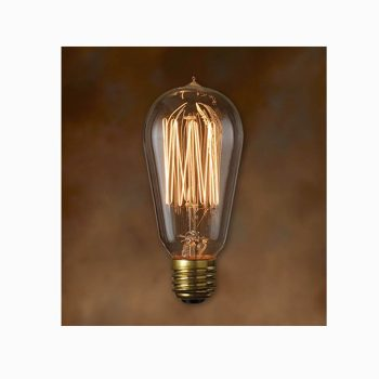 Teardrop Edison Bulb