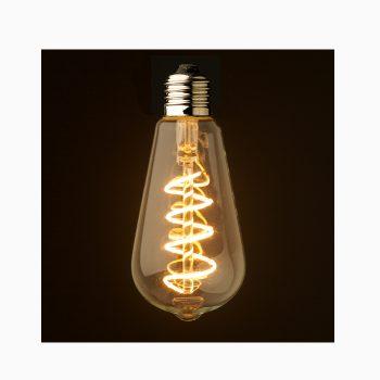 spiral edison bulb
