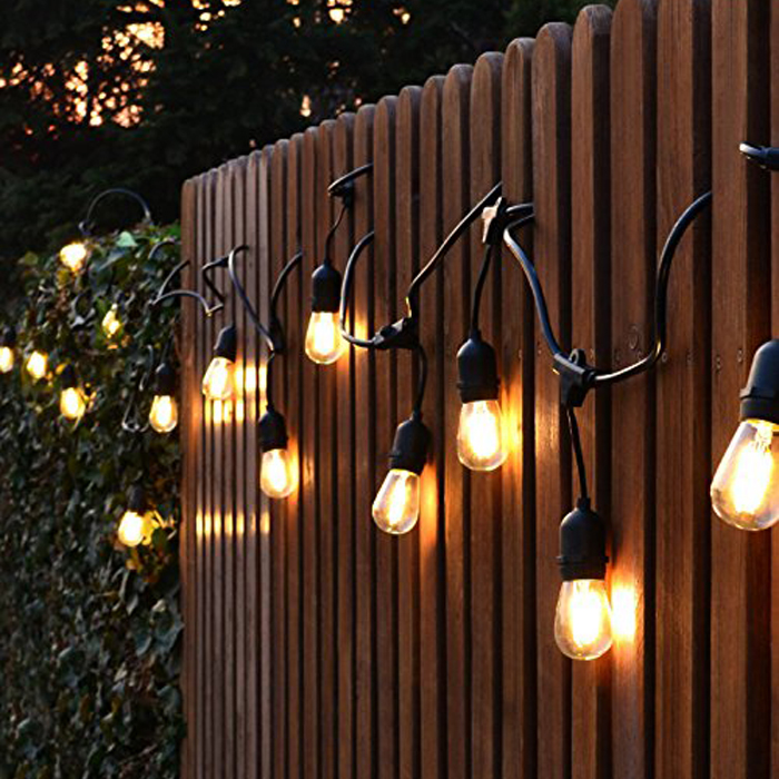 10m Rubber Filament Strings With Bulbs ... Photo Gallery