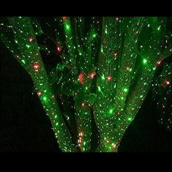 Led garden laser