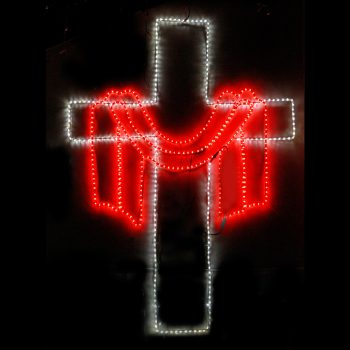 Big LED Cross