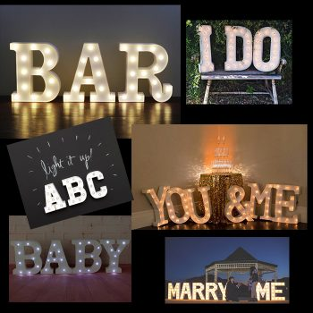 ABC Marquee Letters