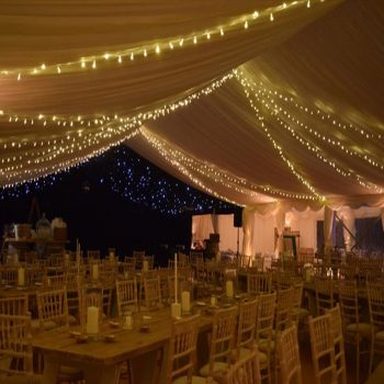 Outdoor Fairy Light Rentals