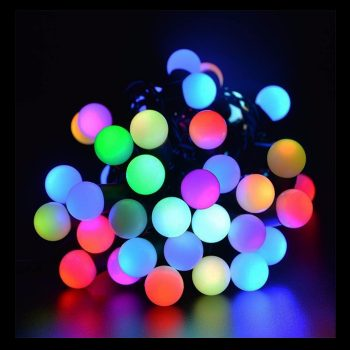 5m LED Coloured Battery Lights