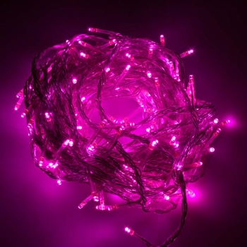 10m Pink LED Fairy Lights