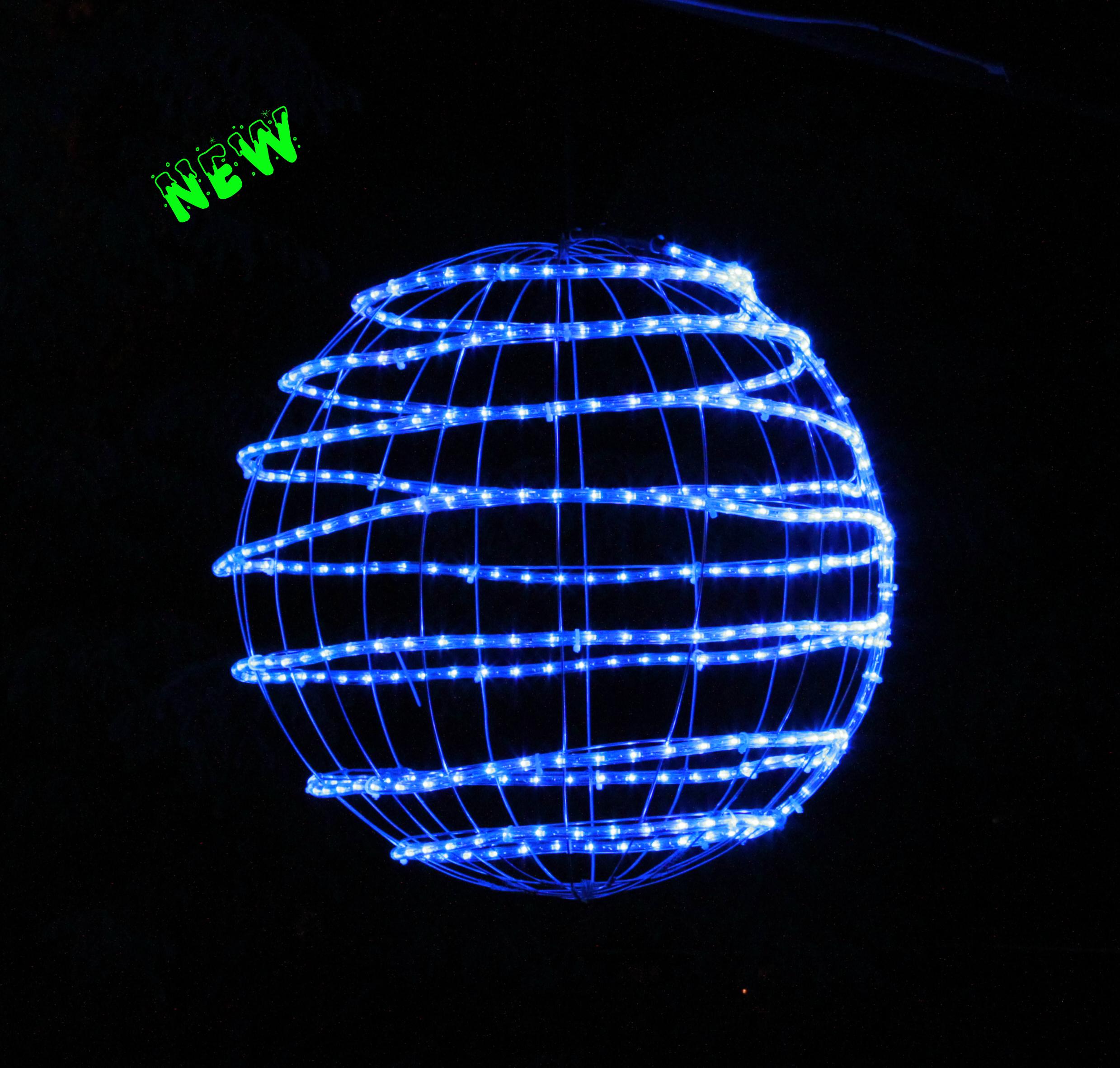 3d Led Sphere Festive Lights