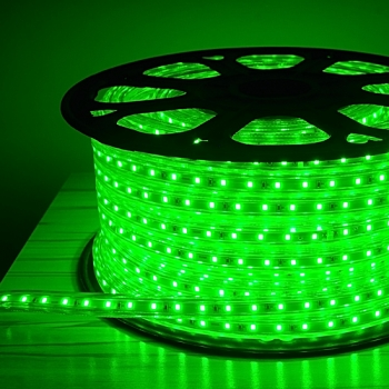 Green LED Rope Light