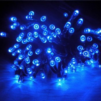 10m Blue LEd fairy Lights