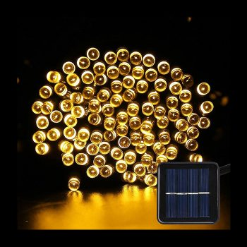 Solar LED Fairy Lights - Warm White