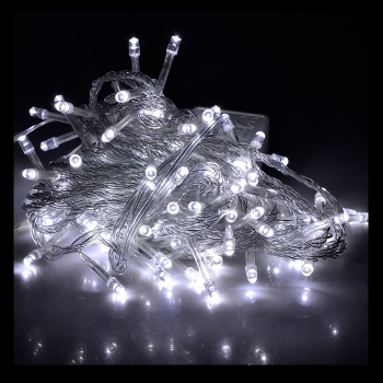10m White LED Fairy Lights