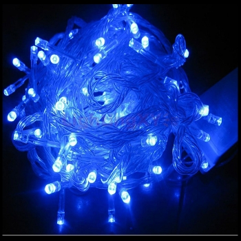 20m blue led fairy lights