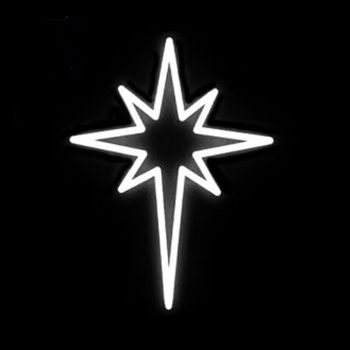 LED White Star