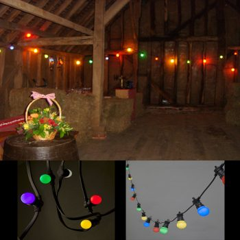 20m Coloured Carnival Lights