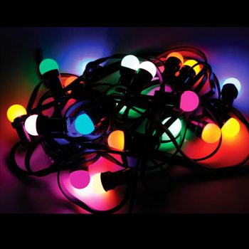 20m Coloured Bistro Lights