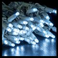 5m Twinkle White Rubber LED Icicles