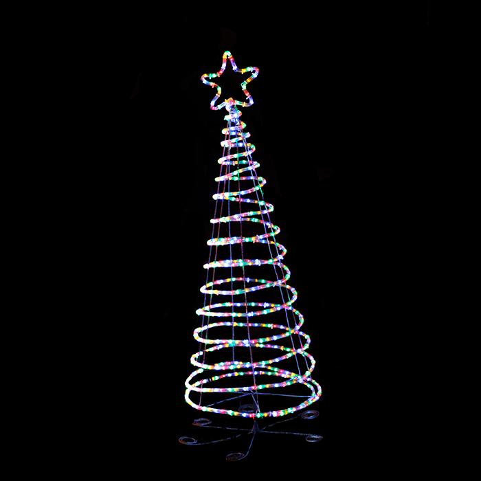 Rope Light Tree