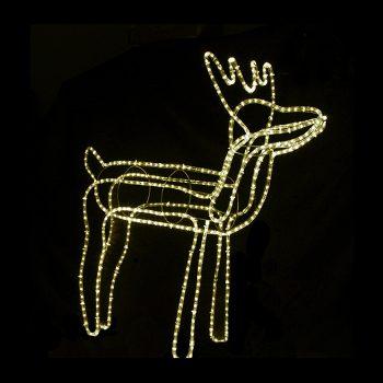 Medium LED Reindeer - Warm White