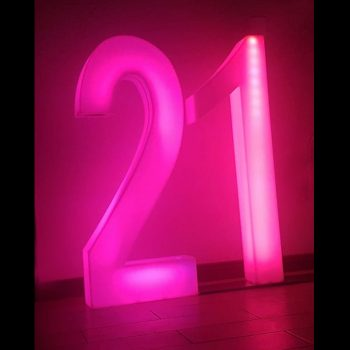 LED Numbers 21