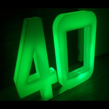 LED Numbers 40