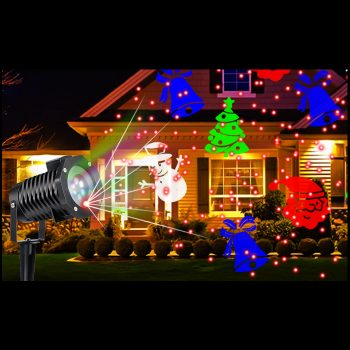 Garden Projectors and Candy Canes