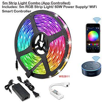 5m RGB Strip Light Combo (App Controlled)